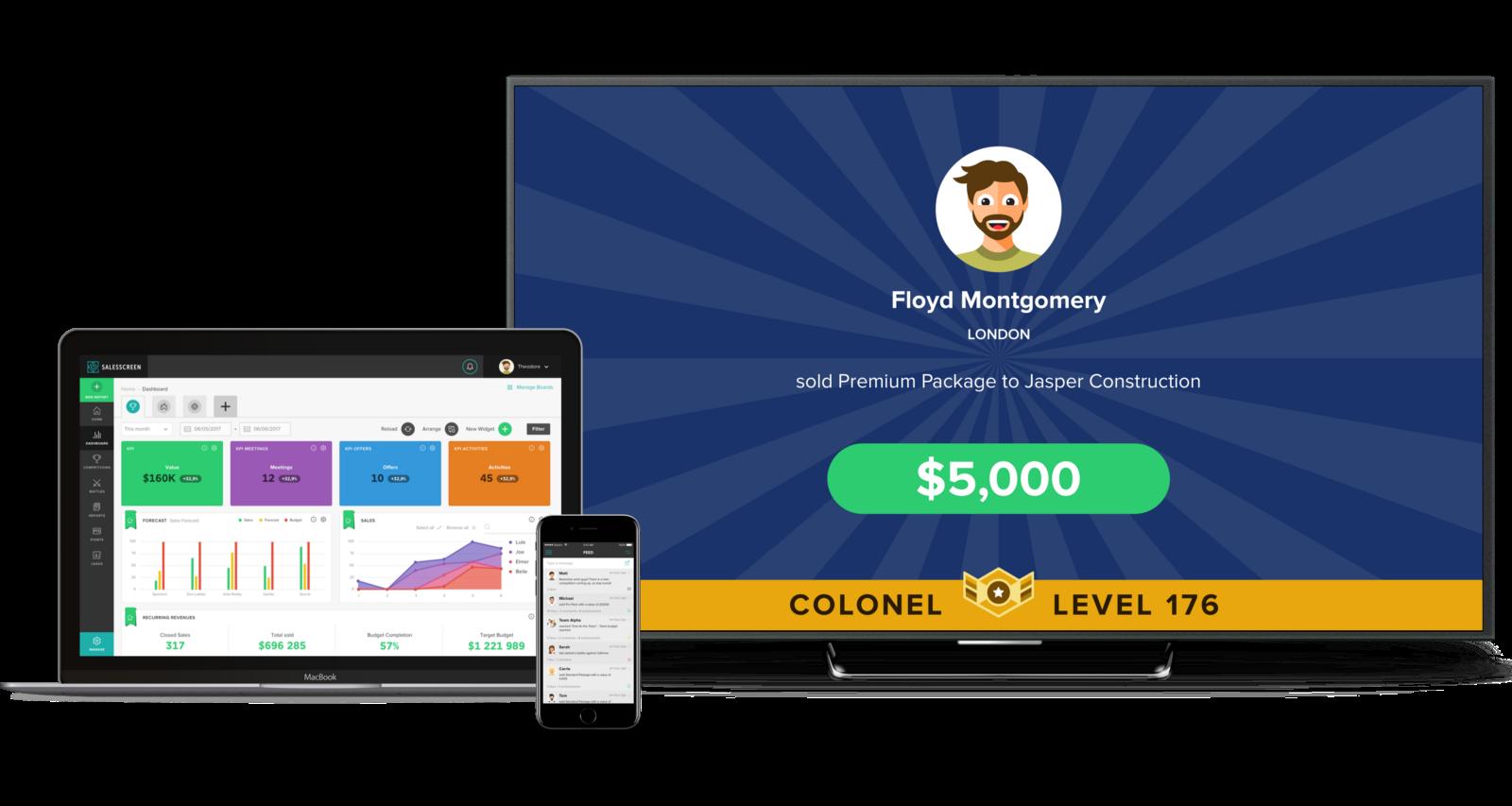 SalesScreen, a modern sales enablement platform