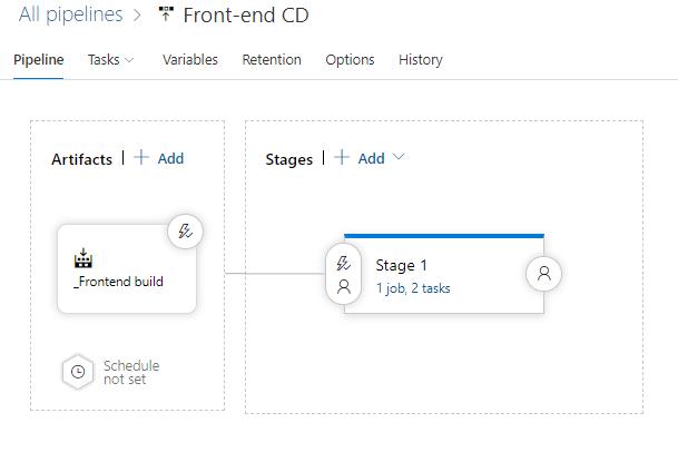CI/CD for React application using Azure DevOps Pipelines and webpack