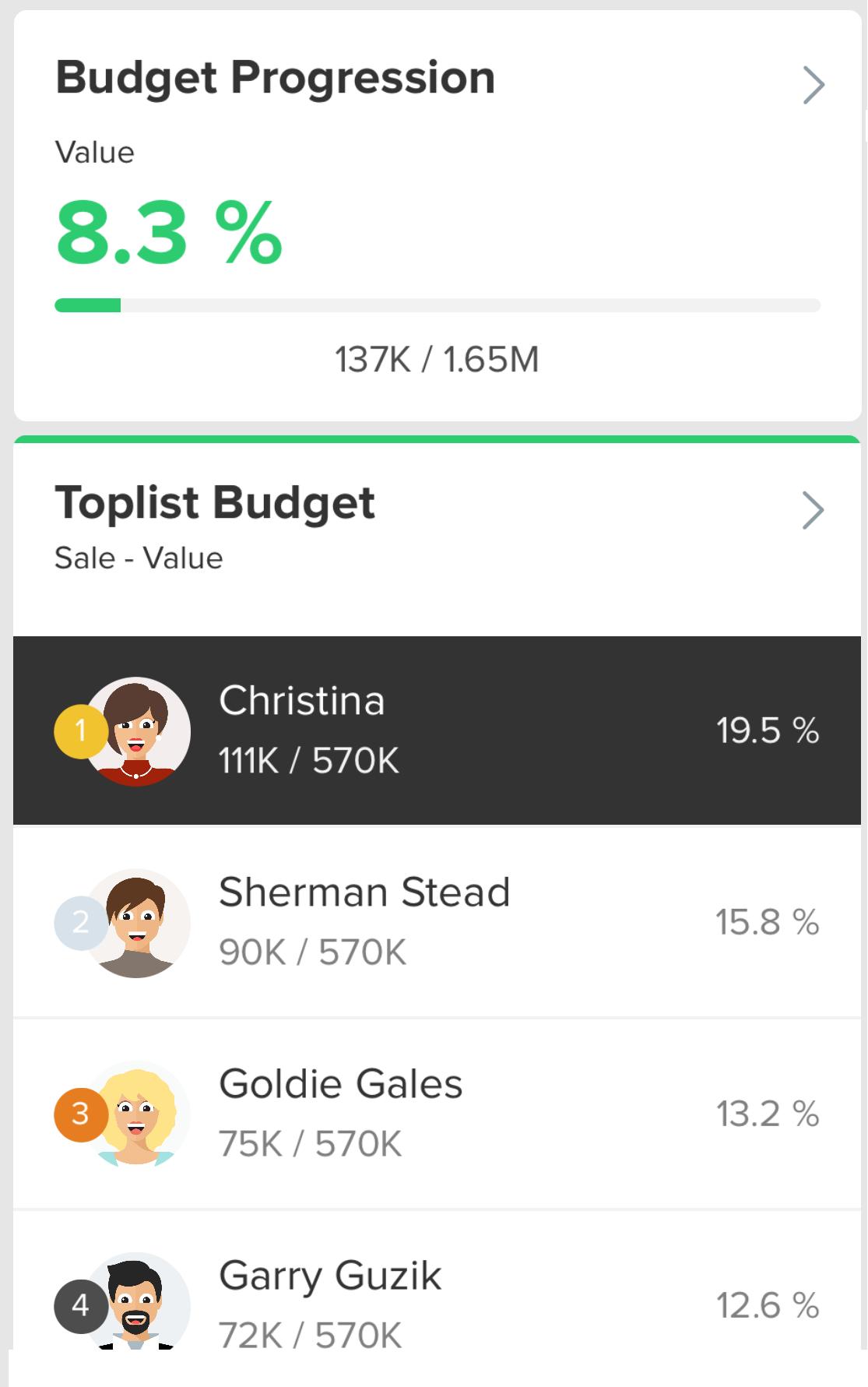 Mobile App Widget Updates